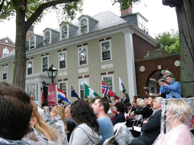 ハーバード大学MBA(経営管理学修士)卒業式
